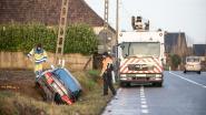 Vrouw uit Geraardsbergen gewond bij crash op N8 in Horebeke