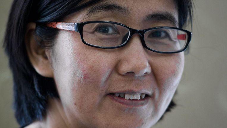Wang Yu, advocate. Beeld afp