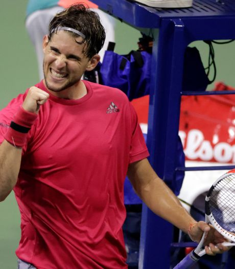 Dominic Thiem dendert door in New York
