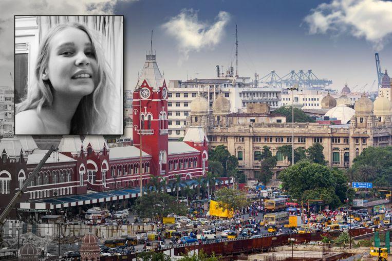 De 24-jarige Linda Heijker uit Leiden (inzet) is dood aangetroffen in een Indiaas hotel