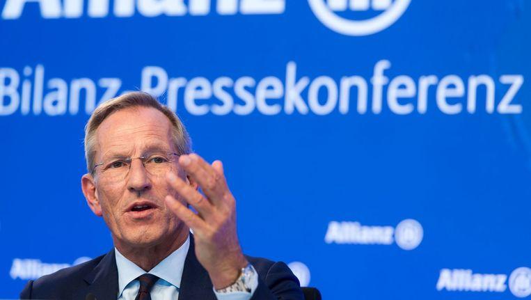 Michael Diekmann, CEO van Allianz Beeld afp