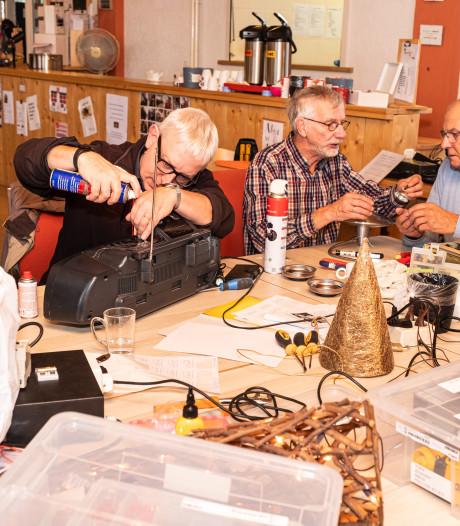 Biddinghuizen maakt Dronten warm voor eigen repaircafé