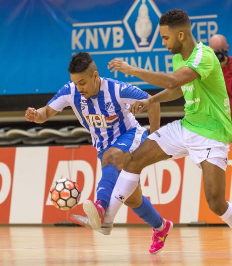 Alleen winst kan zaalvoetballers FC Eindhoven nog uit nacompetitie houden