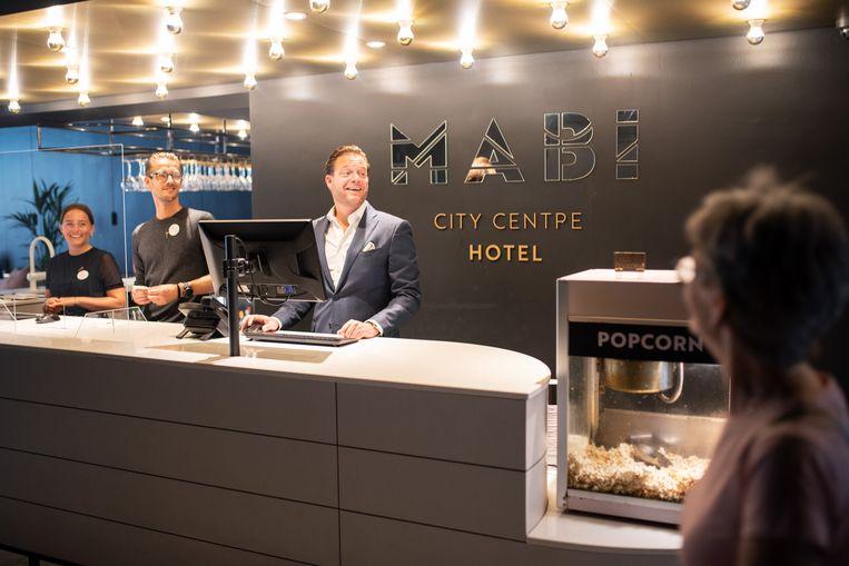 De hotels in Maastricht zijn weer volgestroomd. Beeld Sabine van Wechem