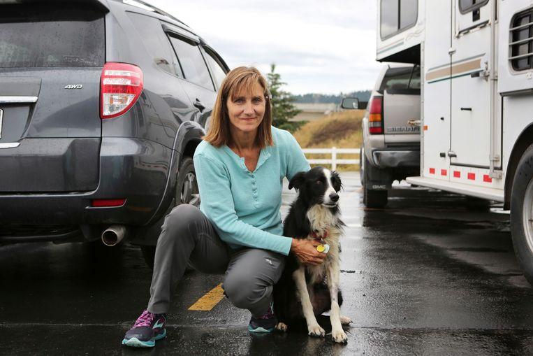 Carole King vond haar border collie Katie terug na 57 dagen zoeken.