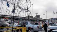Mexicanen werpen wegblokkades op om Amerikanen tegen te houden, uit coronavrees