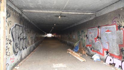 """Actievoerders heropenen voetgangerstunnel: """"Wanneer komen er echte oplossingen voor de daklozenproblematiek?"""""""