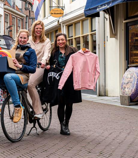 Ondernemers bedienen klanten per fiets: Zutphen Helpt breidt zich uit als olievlek