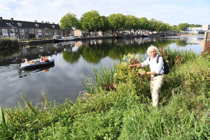 Ecoloog Rob Vereijken vertelt over natuur in de Piushaven