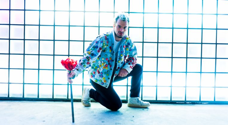 Rubén Sánchez speelt op Fringe de voorstelling ¿Where Did The Rabbit Go? Beeld Felissa Marlisa & Eddi de Bie