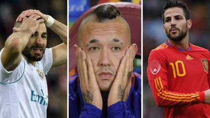 Ons WK-elftal der kneusjes: deze elf topspelers (plus bankzitters) zijn genegeerd door hun land