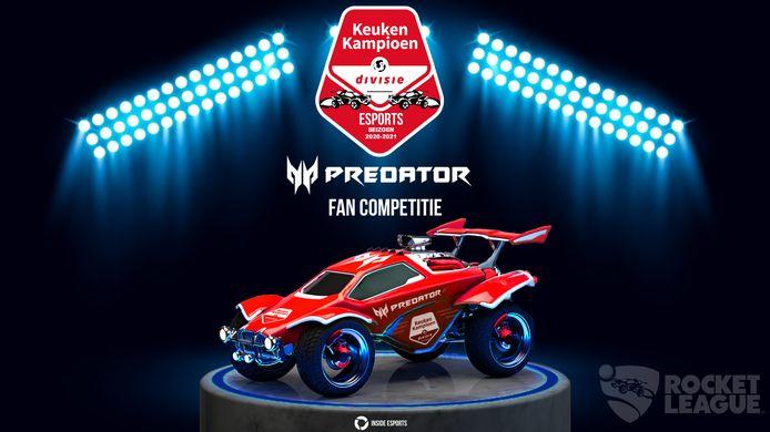 De Keuken Kampioen Divisie lanceert de eerste officiële gamecompetitie in hun geschiedenis. Het gaat om het spel Rocket League.