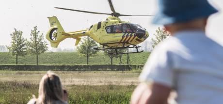 Traumaheli hoofdact op eerste open dag ambulancepost in Arnhem