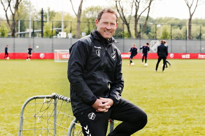 Jelle Goes werkte in totaal zeven jaar voor de voetbalbond van Estland, nu bij FC Utrecht.