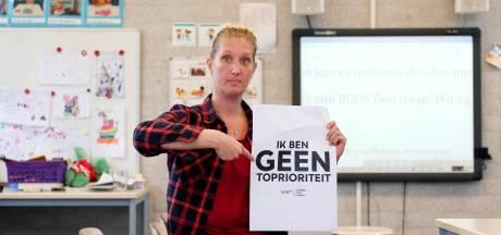 In Wijhe wordt gerapt als ludiek protest tegen lerarentekort