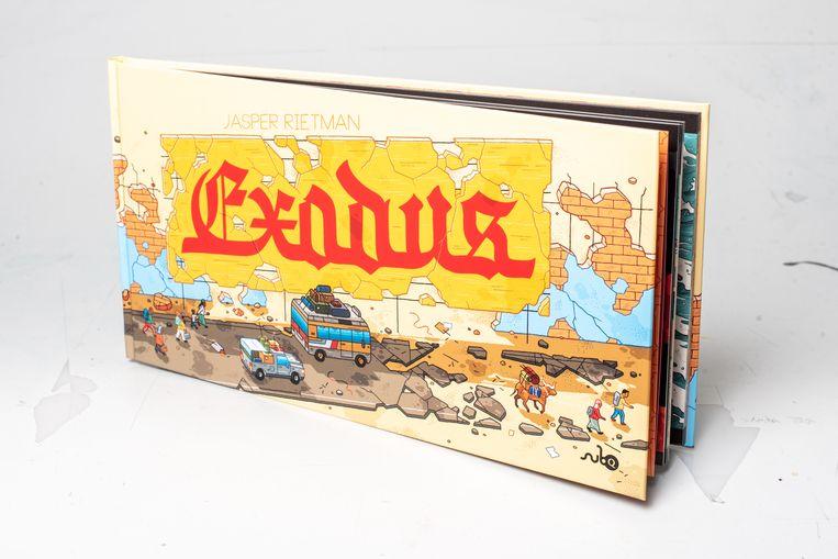 Cover van Exodus Beeld Simon Lenskens