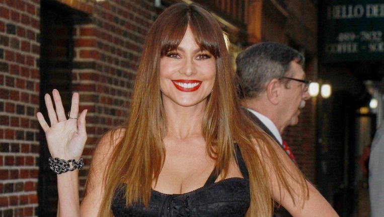 Sofia Vergara speelt Gloria in de populaire sitcom Modern Family.