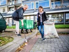Heel Arnhem schoon, om te beginnen in Malburgen, de wijk van Alie Sijtsma