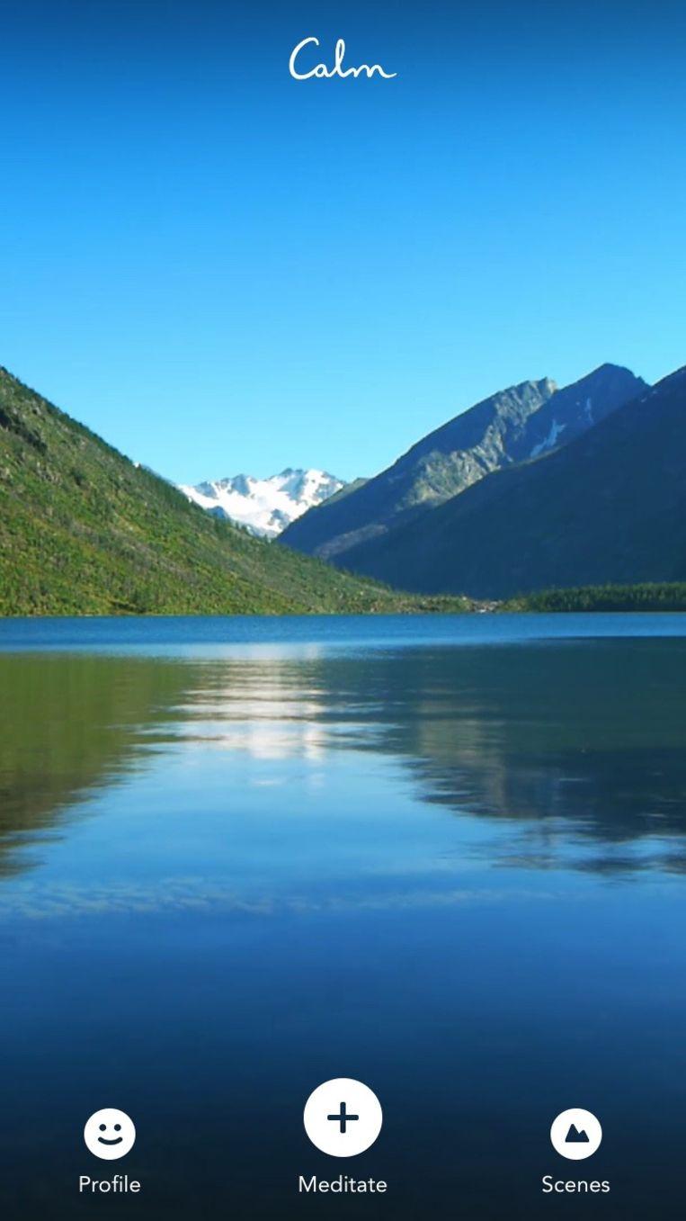 Into the wild...het prachtige bergmeer. Voel je je al rustiger worden?