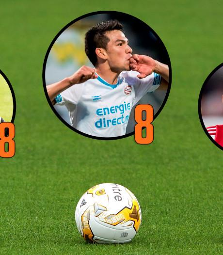 Lozano, Ziyech en Matavz blinken uit, dikke onvoldoendes Heerenveen