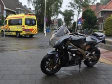 Motorrijder gewond na botsing met auto in Alphen
