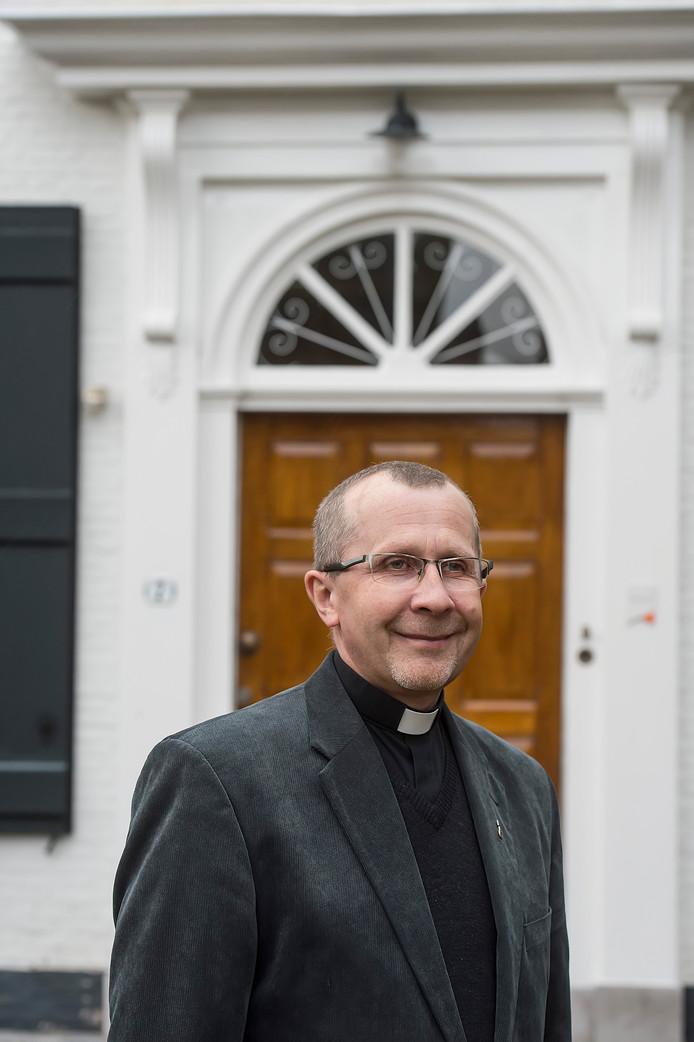 De Poolse pater Klim is in het bisdom Breda de contactpersoon voor de Poolse gemeenschap.