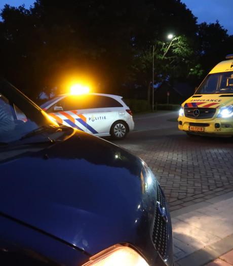 Auto rijdt over varkensrug en belandt op zijkant in Etten-Leur