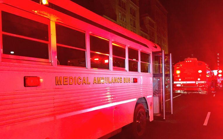 De toeristen werden uit voorzorg opgenomen in het ziekenhuis