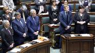"""Kamer en regering brengen hulde aan """"uitzonderlijke koningin"""" Fabiola"""