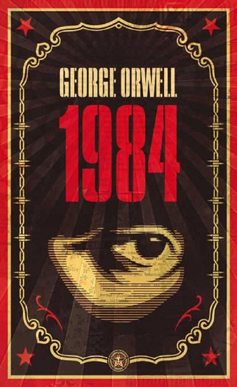 Omslag van 1984, het boek van George Orwell. Beeld
