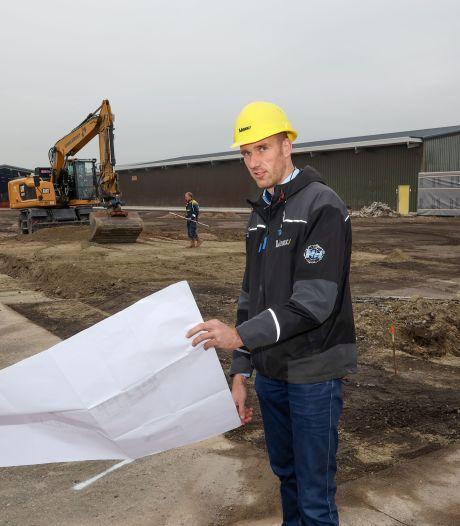 Linex in Hulst bouwt nieuwe dakenfabriek vol technische snufjes