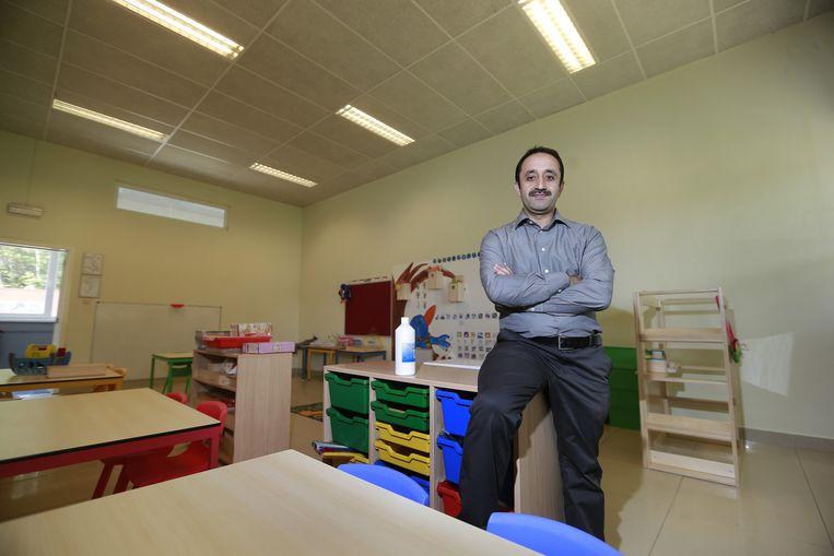 Directeur Kocak Erdal wil een mix brengen van kinderen van verschillende afkomst.
