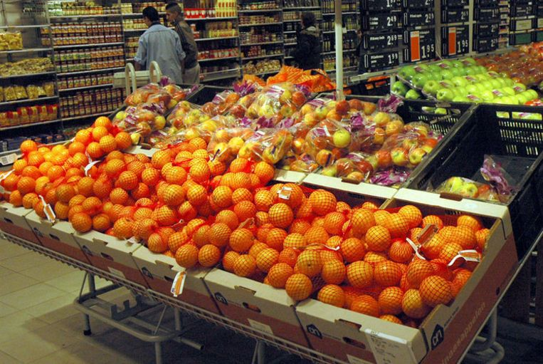 Een 'overval' op een supermarkt in Amstelveen bleek een examenstunt. Foto GPD Beeld