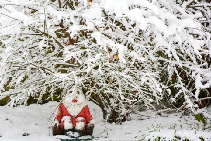 Niet alleen voor de Brabanders, maar ook voor de Kerstman is code rood van toepassing.