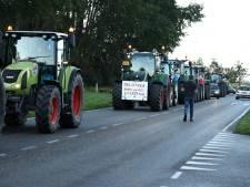 Meekijken vanuit de tractorcabine van Brabantse boeren: 'Hopen dat ze een keer zwichten'