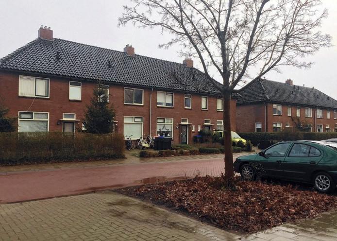 Bij het boompje gebeurde het ongeluk waarbij Johan de Lange zwaar gewond raakte.
