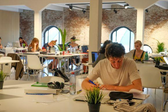study spaces van Brik