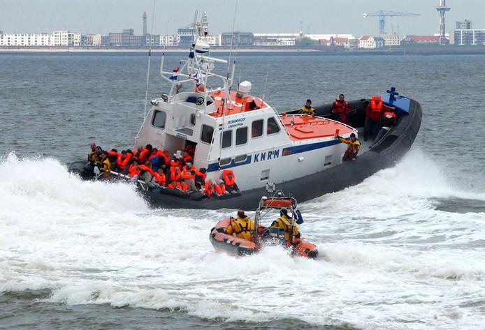 Archieffoto van de reddingboot Zeemandshoop.