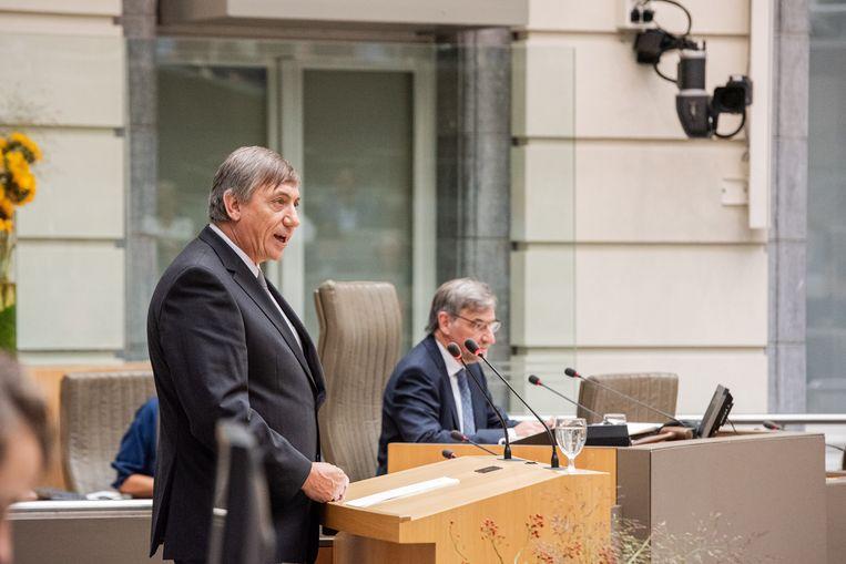 Beeld ter illustratie, Vlaams minister-president Jan Jambon.