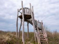 Uitkijktoren Vrouwenpolder vernield