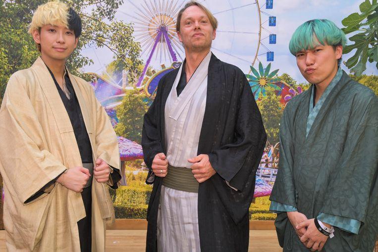 Regi met Youtubers Hikaru en Soma