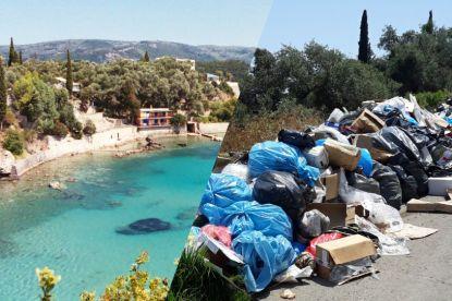 Rustgevend verblijf op idyllisch Korfoe wordt vakantie in de stank