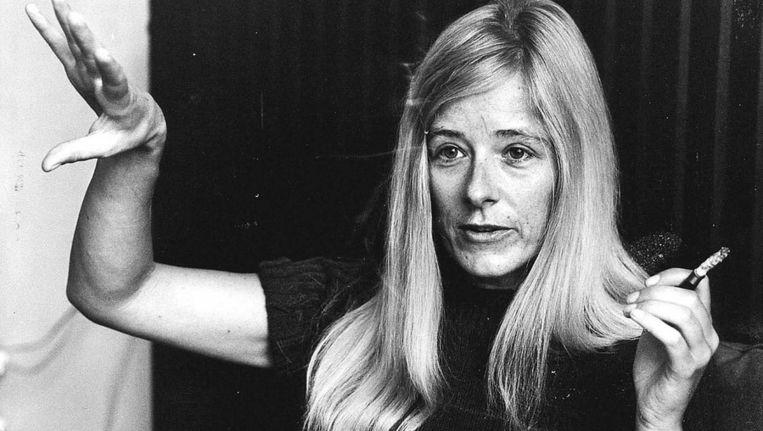 In 1967 pleitte Joke Smit in 'Het onbehagen bij de vrouw' voor gelijke rechten voor man en vrouw. FOTO © ANP Beeld