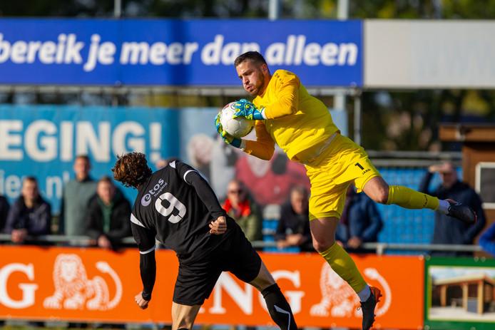 FC Lienden-doelman Menno Heus.