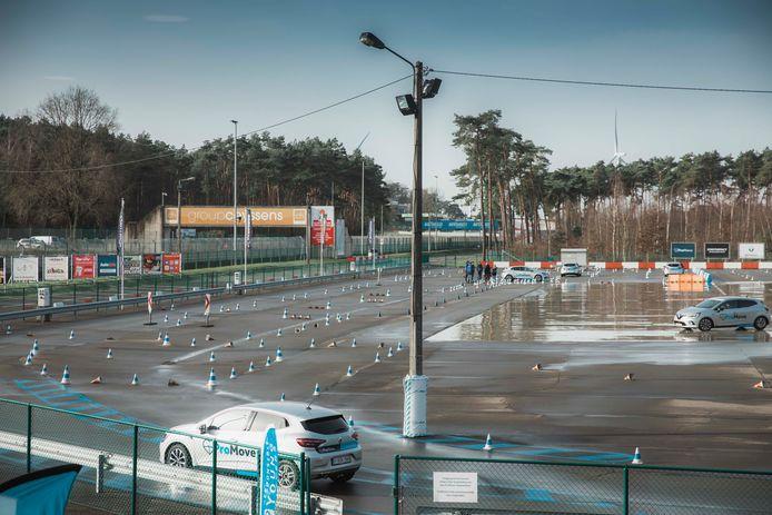 Het circuit in Zolder.