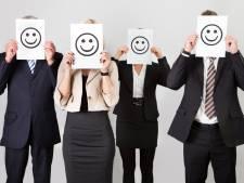 'Gelukkige werknemers zien zichzelf als beter dan de rest'