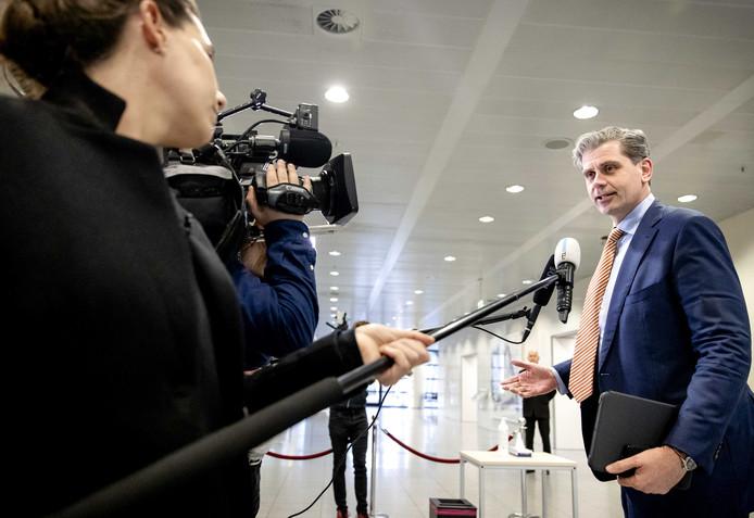 Burgemeester Wouter Kolff van Dordrecht, tevens voorzitter van de Veiligheidsregio Zuid-Holland Zuid.