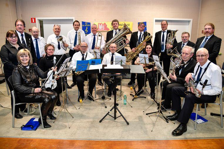 Het Koninklijke Harmonieorkest Sint-Cecilia.