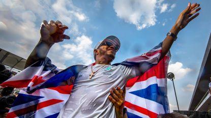 Lewis Hamilton nestelt zich in galerij der groten