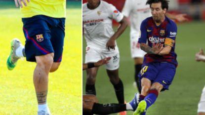 Waarom een gefrustreerde Lionel Messi vrijdag duw uitdeelde: sporen van gruwelijke fout duidelijk zichtbaar